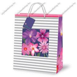 Kicsi díszzacskó, Indigo virágos  - Ars Una