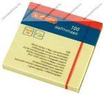 Öntapadó jegyzet, 75x75 mm (100 lap) - Herlitz