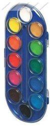 Vízfesték 12 szín, ovális - Herlitz