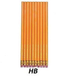 HB radírvégű grafitceruza csomag (10 db-os) - Herlitz