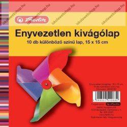 Kivágólap, 15x15 cm (10 ív) - Herlitz