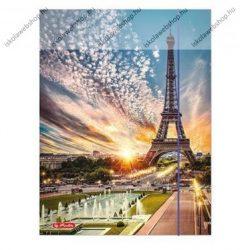 City Párizs gumis mappa, A4 - Herlitz
