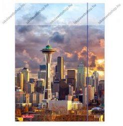 City Amerika gumis mappa, A4 - Herlitz