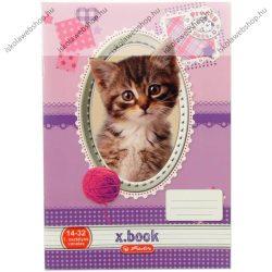 Lecke és Üzenőfüzet, A5, Pretty Pets Cicás - Herlitz