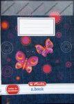 Lecke és Üzenőfüzet, Butterfly farmer A5/32 lapos - Herlitz