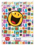 Smiley Be Happy kockás füzet, A5/27-32 - Herlitz