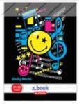 Smiley Music kockás füzet, A5/27-32 - Herlitz