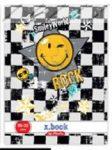 Smiley Rock kockás füzet, A5 - Herlitz