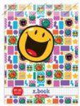 Smiley Be Happy felsős vonalas füzet, A4/81-32 - Herlitz