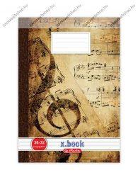 Hangjegyfüzet, A4/36-32 - Herlitz