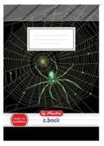 Herlitz 1. osztályos vonalas füzet, Spider/Pókos (A5/14-32)