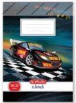 Boys Autós Racer sima füzet, A5/20-32 - Herlitz