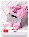 A5 Vonalas spirálfüzet - Flower, Pink Love