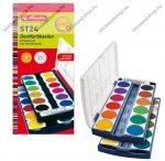 Vízfesték 24 szín + fedőfehér - Herlitz