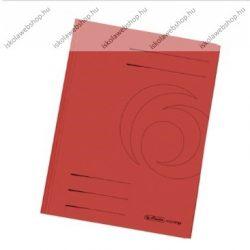 Pólyásdosszié, A4, piros