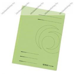 Pólyásdosszié, A4, zöld