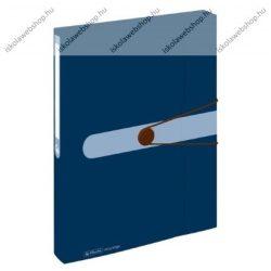 Füzetbox PP, easy orga to go, kék, A4