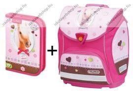 Herlitz Sporti tolltartó Pretty Pets Ló/Lovas iskolatáska szett (tolltartóval)
