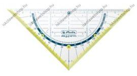 My.pen geometriai háromszög vonalzó, 16 cm (törésbiztos), Zöld- Herlitz