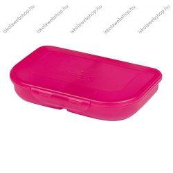 Herlitz uzsonnásdoboz, pink