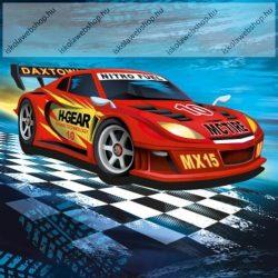 Szalvéta, Super Racer/Autós, 3 rétegű, 33x33 cm, 1 db