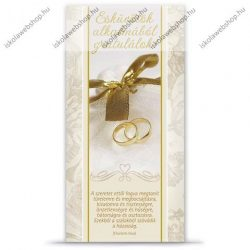 Esküvői képeslap, francia borítékos - Ars Una