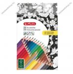 Felnőtt színesceruza, 34+2 szín Trio
