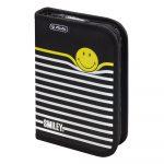 Smiley B&Y Stripes tolltartó, üres  - Herlitz