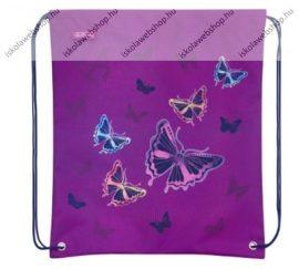Herlitz sportzsák/tornazsák, Girls, Glitter Butterfly/Pillangós
