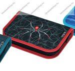 Herlitz kihajtható/klapnis tolltartó, 1 klapnis, Spider, üres