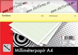 Milliméterpapír A4 (5 ív)