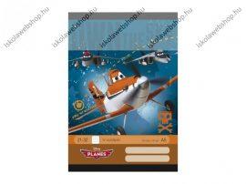 Planes/Repcsik felsős vonalas füzet A5