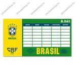 Brasil órarend, kétoldalas - Ars Una
