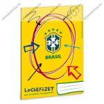 Lecke és Üzenőfüzet, A5, Brasil - Ars Una