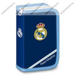 Ars Una kihajtható/klapnis tolltartó, Real Madrid (fehér sávos), töltött