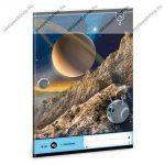 Space 1. osztályos vonalas füzet, A5 - Ars Una