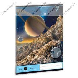 Space/Űrhajós kockás füzet, A5 21-32 - Ars Una