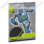 Robot 1. osztályos vonalas füzet, A5 - Ars Una