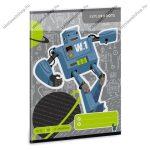 Robot 2. osztályos vonalas füzet, A5 - Ars Una