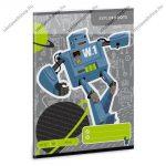 Robot sima füzet, A5 - Ars Una