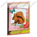 Erdő-mókus szótárfüzet, A5 - Ars Una