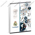 A5 Sima spirálfüzet - Real Madrid, Ars Una