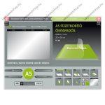 Öntapadós tankönyvborító, sima, 35x26 cm (10 db/csomag) - Ars Una