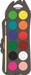 Vízfesték 12 szín + ecset - MAPED