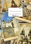 VICTORIA Város Fotók kockás füzet, A4/87-32