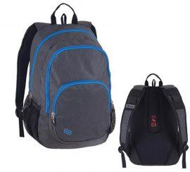 PULSE Fusion szürke-kék hátizsák, Laptop/Notebook tartóval (121005)
