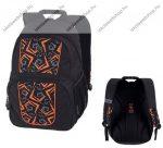 PULSE Vision Geo narancssárga-fekete hátizsák