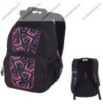 PULSE Vision Geo rózsaszín-fekete hátizsák