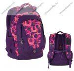 PULSE Music Circle lila-rózsaszín hátizsák