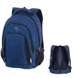 PULSE Classic Jeans kék farmer hátizsák (120747)
